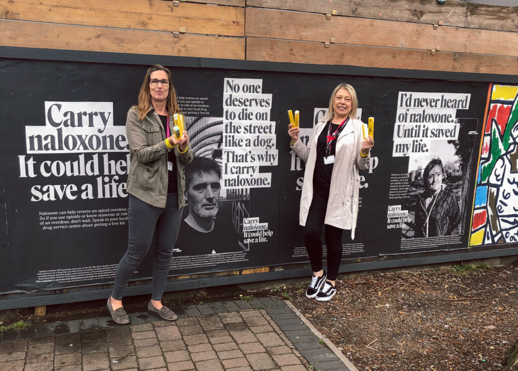 National overdose awareness campaign hits the streets of Bristol