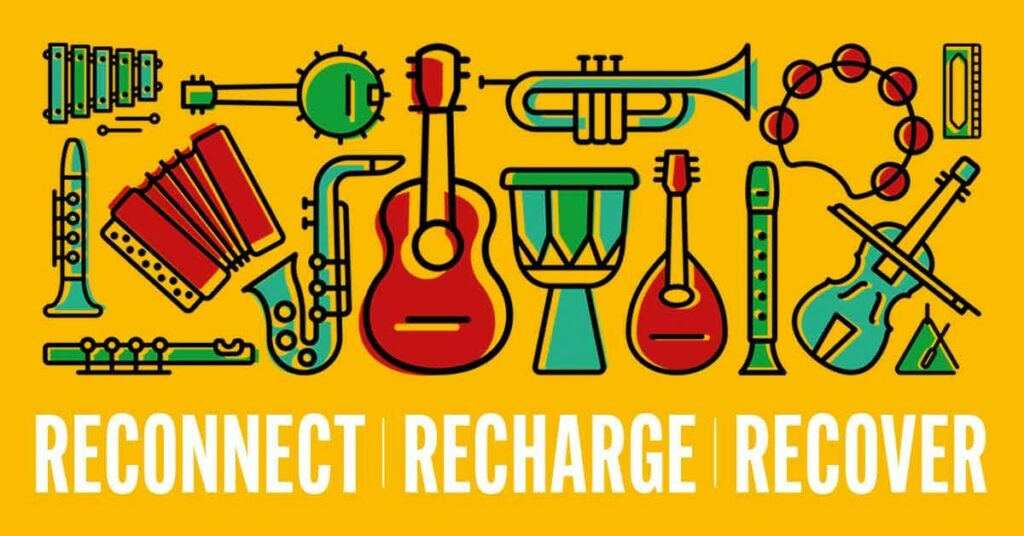Bristol Recovery Orchestra presents free three day workshop: Reconnect Recharge Recover