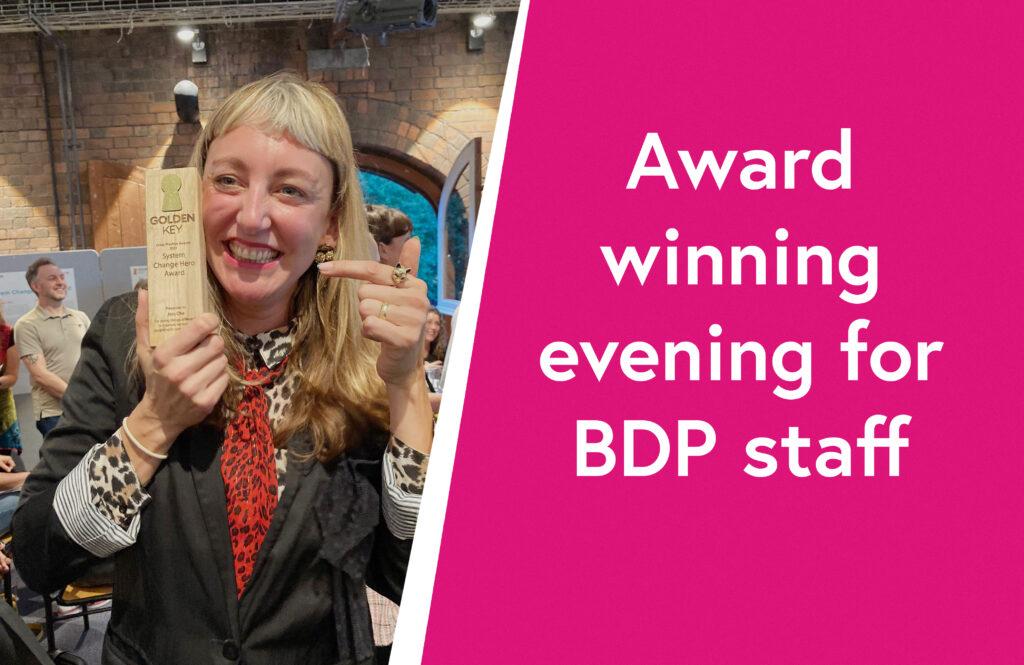 Award winning evening for BDP staff